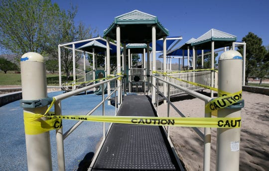 "Parks across El Paso are now closed after the ""stay home, work safe"" order was expanded Wednesday."