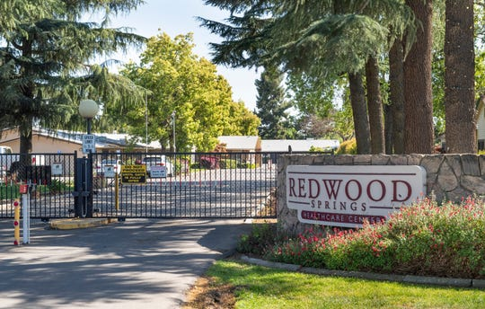 Redwood Springs Healthcare Center announced Wednesday, April 1, 2020 that six patients and two health care professionals tested positive for COVID-19.