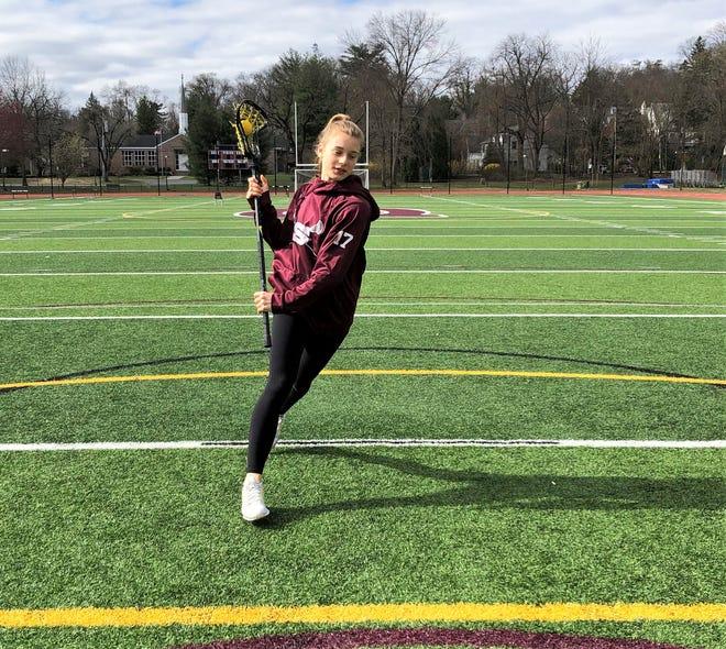 Scarsdale senor Sophia Franco, who'll play for Dartmouth next year