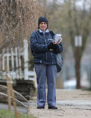 School district ballots will be delivered and returned this year by postal carriers like Evelyn Connell of Garnerville, a 33-year letter carrier with a route in Suffern.
