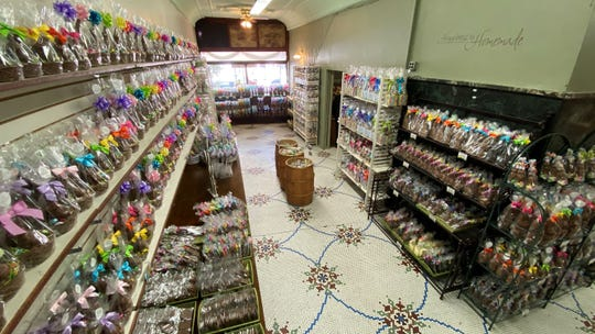 Lucas  Candies in Haverstraw is fully stocked for Easter.