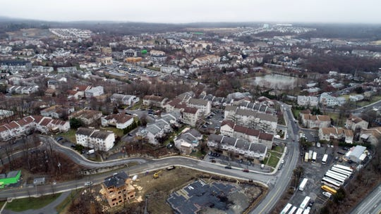 Kiryas Joel March 19, 2020. There are concerns that a large percentage of residents there may have Covid-19 coronavirus.