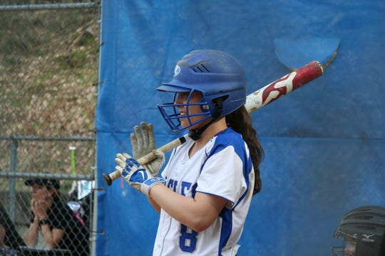 Dobbs Ferry co-captain Sky Piacentino.