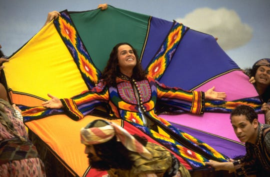 """Donny Osmond stars in a 2000 production of """"Joseph and the Amazing Technicolor Dreamcoat."""""""