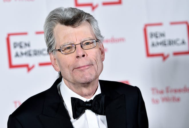 This May 22, 2018 file photo shows Stephen King at the 2018 PEN Literary Gala in New York. With independent bookstores shut down nationwide, a new online seller is offering help. In January, Andy Hunter launched Bookshop.org.  Simon & Schuster is adding buy buttons for Bookshop.org to all of its websites and promoting Bookshop through emails and elsewhere online. It also has enlisted numerous authors, among them Stephen King, Susan Orlean and Jason Reynolds, to get the word out about Bookshop on social media and elsewhere.