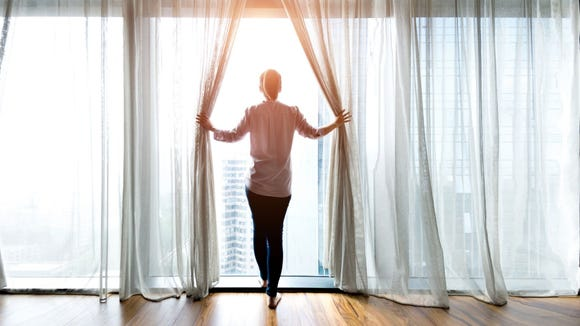 Natural light is the main environmental factor that affects circadian rhythm.
