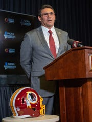Ron Rivera, entrenador en jefe de los Redskins.