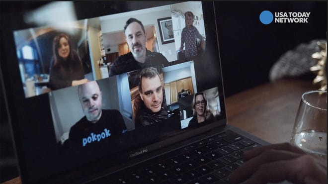 Using Messenger for Desktop for virtual happy hours