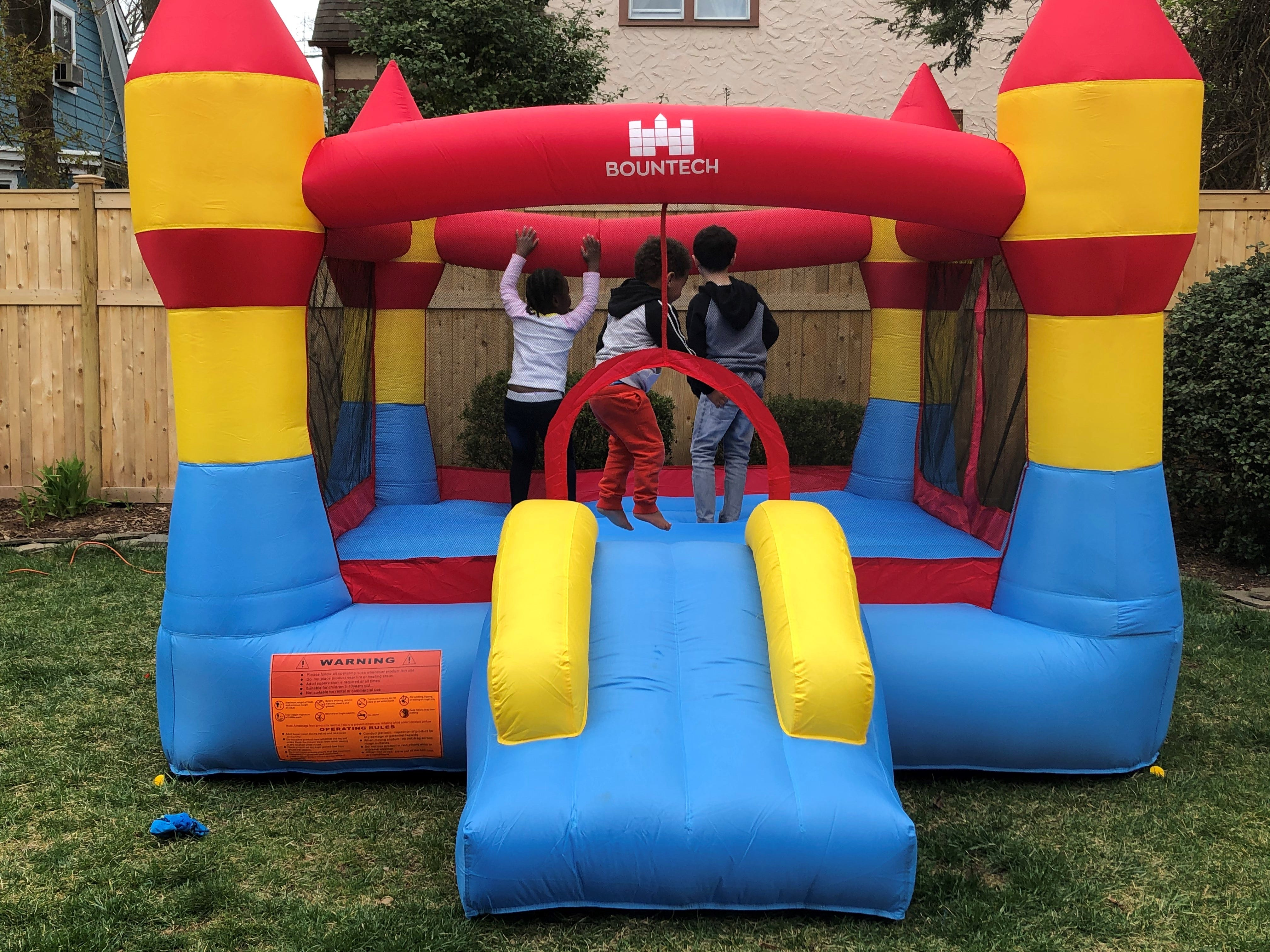 Bounce house, trampoline, outdoor toy sales jump as families practice COVID-19 social distancing