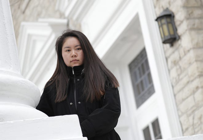 Lawrence University student Christa Zhang feels a heightened sense of her race due to the growing number of incidents regarding Asian Americans.