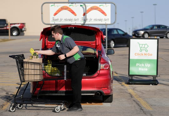Online orders for pickup at Festival Foods have doubled in the past month.