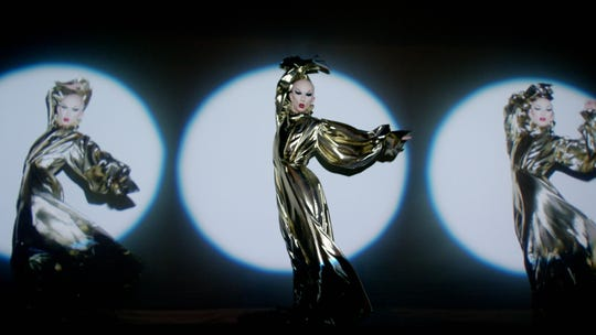 "Sasha Velour performing in a scene from ""NightGowns,"" now streaming via Quibi."