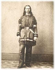 "James Butler ""Wild Bill"" Hickok in the 1860s."