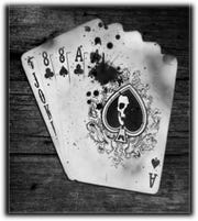 A Dead's Man Hand of aces and eights.