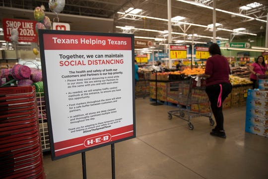 H-E-B has put several measures in place to encourage social distancing as well as safety measures for its partners.  All stores in the Corpus Christi area have been updated as of Friday, April 3, 2020.