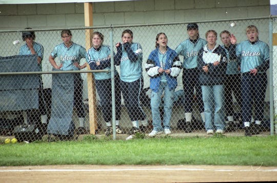 In 2000, Adena softball defeated Unioto 13-3 to claim the SVC title.