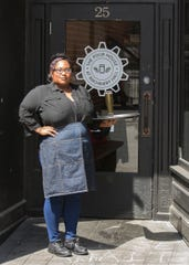 Pour House server Cherice Brown can't wait to get back to work. Like her and so many other people in the food industry, the return to work couldn't happen soon enough.  Brown has worked for the Pour House since 2017 and is raising two children.