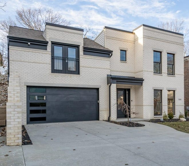 This ultra modern house in Hyde Park recently hit the market for about $1.1 million.