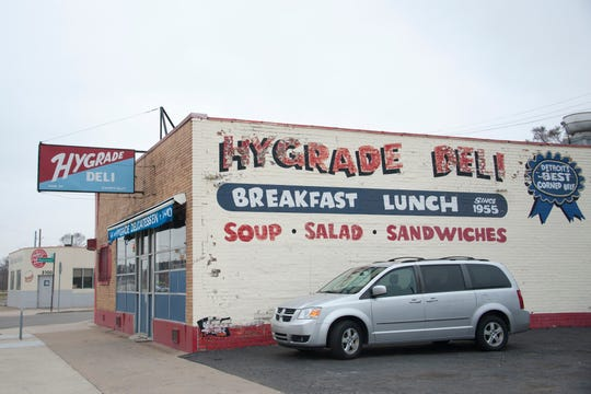 Hygrade deli on Michigan Avenue is one of the restaurants in southwest Detroit from where Ford Motor Co. is coordinating free meal delivery amid the COVID-19 outbreak.