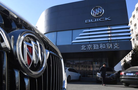 GM auto sales fell 43% decline in China auto sales from January through March because of the coronavirus outbreak.