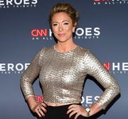 This Dec. 17, 2017 file photo shows CNN news anchor Brooke Baldwin at the 11th annual CNN Heroes: An All-Star Tribute. Baldwin says she's tested positive for the coronavirus.
