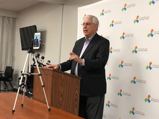 Joe Paterno, executive director of CareerSource Southwest Florida, is retraining his employees to help reset state unemployment PIN numbers. But he also wanted to clarify: the unemployed must go through the state unemployment office to get a PIN number first.