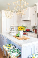 A kitchen designed by Amanda Louise Campbell