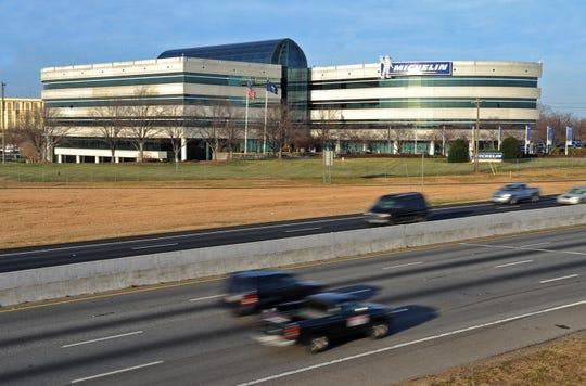 Michelin headquarters in Greenville, S.C. Monday, December 3, 2012.