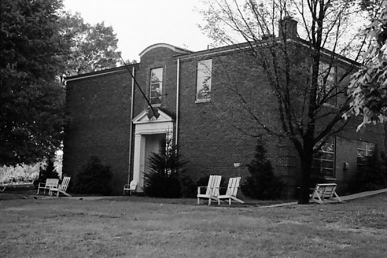 This Gleaner file photo of the Walker Rest Home on U.S. 60-East across from the Elks Lodge dates from 1967. The building originally was erected in 1936 as the Henderson County Training School for blacks, which it remained until the end of segregation. Henderson Fiscal Court bought the building from the county school district in 1960 and remodeled it into a facility for the elderly, which was known as Walker Rest Home until it closed in 1970. The building was razed in 2002. (Photo courtesy Henderson County Public Library)