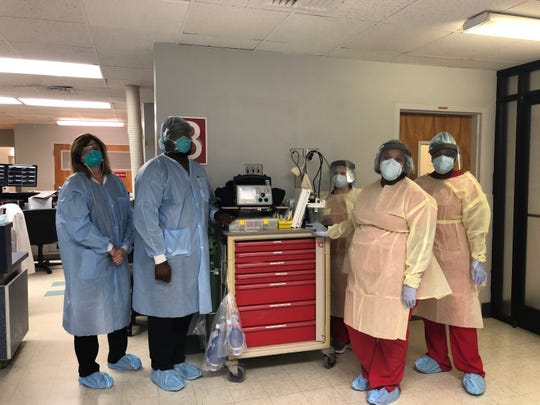 Heath care workers at Alliance HealthCare in Holly Springs have already begun to treat confirmed and suspected cases of coronavirus.