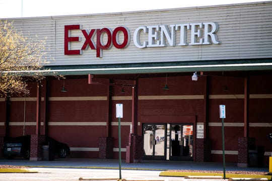 The Knoxville Expo Center located at 5441 Clinton Hwy on Friday, April 3, 2020.