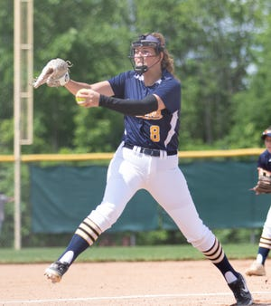 All-state softball pitcher Rachel Everett also played for a Hartland basketball that was about to play for a regional championship when the MHSAA halted its winter tournaments.