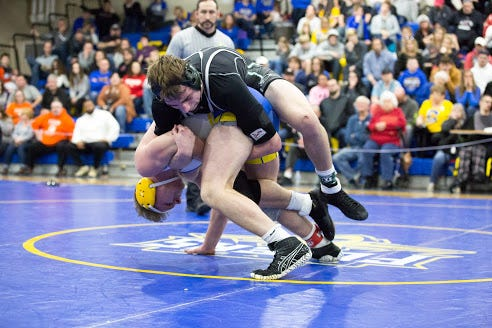 Madison junior 160-pounder Nate Barrett was one of the hottest wrestlers in the area when the season ended a week early.