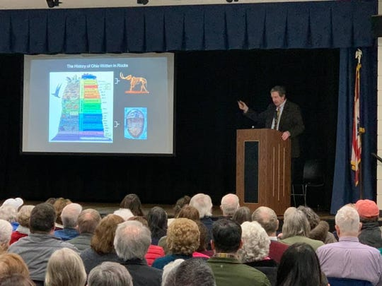 Dr. Bradley Lepper, senior curator of archaeology at the Ohio History Connection, was the first speaker in the Marion 200 Speaker Series. The year-long series is part of the Marion County Bicentennial Celebration, which has been placed on hold due to the coronavirus outbreak in Ohio.