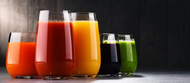Fresh fruit and vegetables juices are a great way to boost your immunity