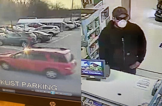 The Waukesha County Sheriff's Office is investigating this individual regarding a robbery at the Pick 'n Save in Wales.