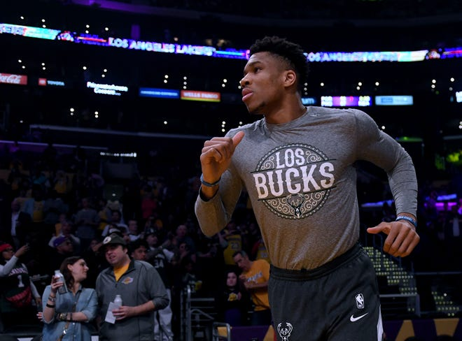 Giannis Antetokounmpo can work out, but he hasn't been able to shoot during the hiatus. He doesn't have a hoop.