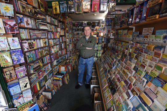 Ray Sedivec is keeping Ray & Judy's Book Stop in Rockaway open, because he's selling essential diversions for young children.