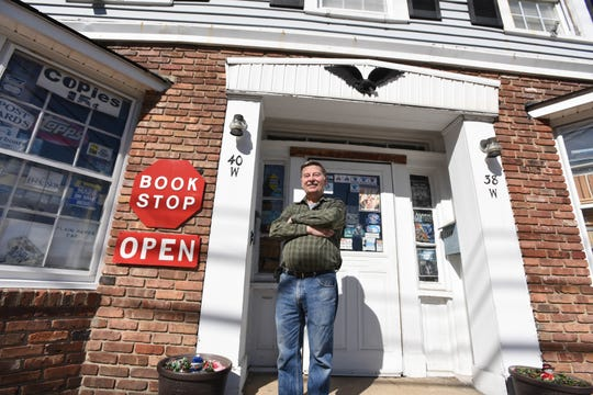 Ray Sedivec is keeping Ray & Judy's Book Stop in Rockaway open, despite the coronavirus pandemic.