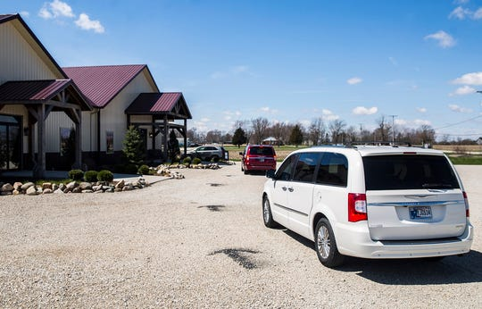 Tonne Winery is taking curbside to-go orders to alleviate some of the financial burden created by the coronavirus pandemic.