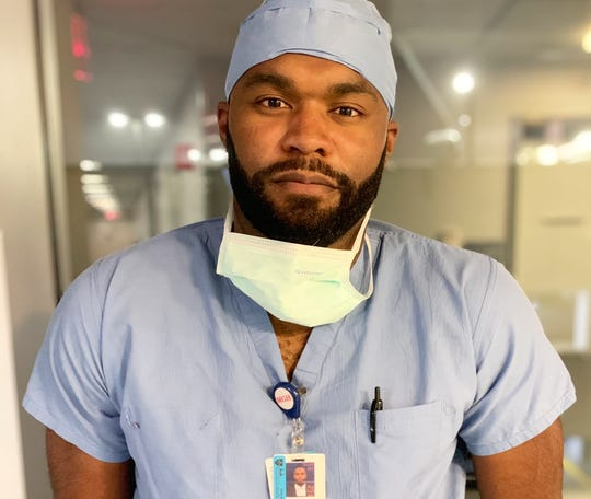 Myron Rolle was drafted by the Titans in 2010. Now the third-year neurosurgery resident at Massachusetts General Hopsital is on the frontlines of the fight against COVID-19.