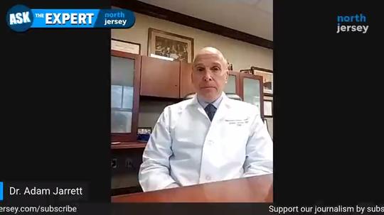 Dr. Adam Jarrett, chief medical officer at Holy Name Medical Center.