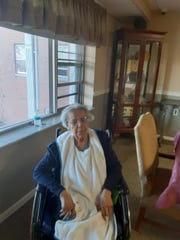 Mary Ella Rogers at Family of Caring in Montclair.