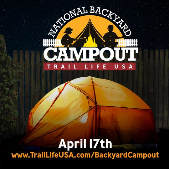 """Boys adventure movement Trail Life USA (www.TrailLifeUSA.com) today announced its first-ever """"National Backyard Campout"""" on April 17 -- encouraging America's families to """"make memories"""" during the COVID-19 lockdown. Go to www.TrailLifeUSA.com/BackyardCampout for more information."""
