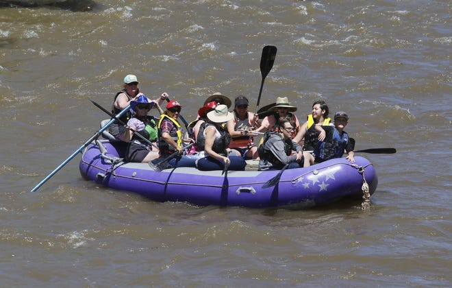 The familiar sight of rafts crowded with Riverfest visitors on the Animas River over Memorial Day weekend will not be seen this year, as organizers have canceled the event.