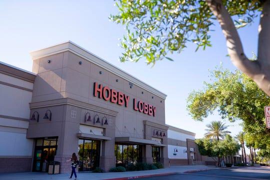 A Hobby Lobby location on April 3, 2020 in Arizona.
