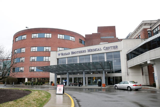 Vassar Brothers Medical Center in the City of Poughkeepsie on April 3, 2020.