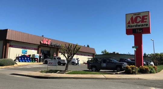 Valley Ace Hardware on Hartnell Avenue in Redding is expanding.