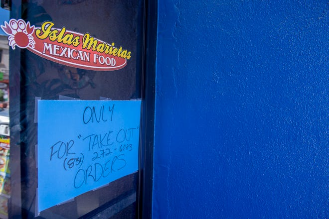 Islas Marietas Restaurant located on 330 Main St is open for takeout orders only during the pandemic.