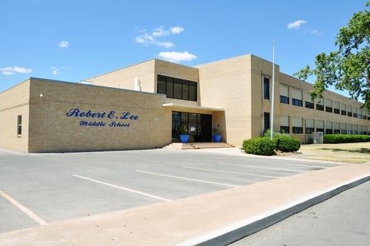 Lee Middle School in San Angelo